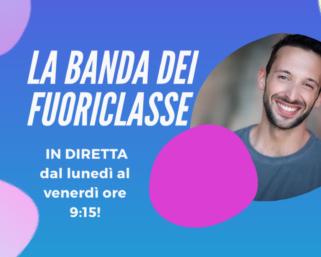 """Mario Acampa conduce """"La Banda dei FuoriClasse"""", nuovo programma di Rai Gulp"""
